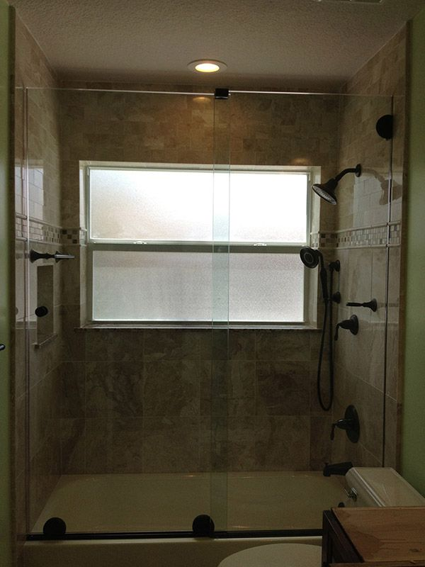 Frameless Single Sliding Shower Doors