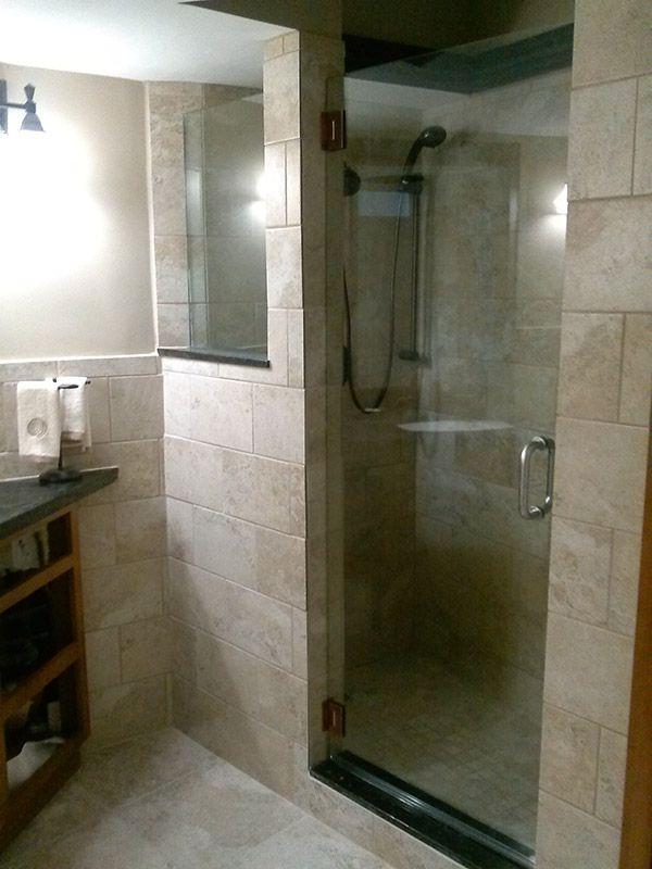 Frameless Shower doors Single Door