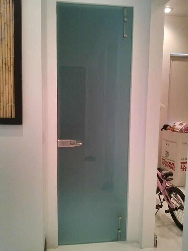 Frameless Shower doors Single Door